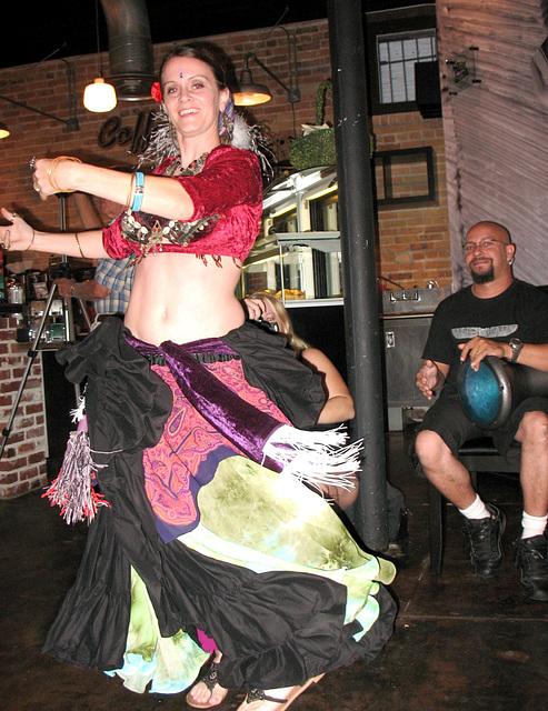 Tribal dancer..