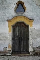 Tür Kapelle Schloss Piesing
