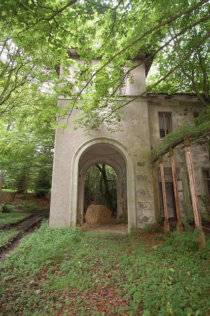 Entrance Facade, Haddo House, Aberdeenshire