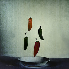 flying peppers