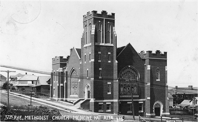 5th Ave. Methodist Church, Medicine Hat, Alta.