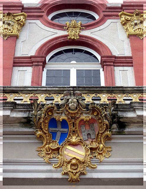 Schloß Bruchsal - Detail