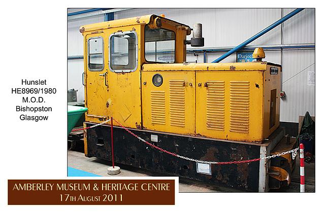 Hunslet HE8969 1980 - Amberley Museum - 17.8.2011