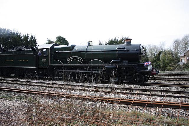 GWR Castle Class 4-6-0 No 5029 Nunney Castle