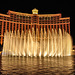 Die Springbrunnen des Bellagio