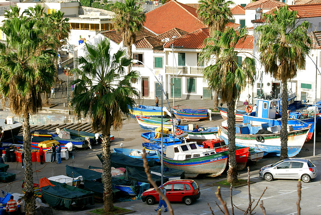 Madeira. Am Hafen von Camara de Lobos. ©UdoSm