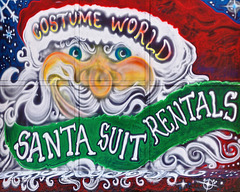 Santa Suit Rentals – Smallman Street, Strip District, Pittsburgh, Pennsylvania