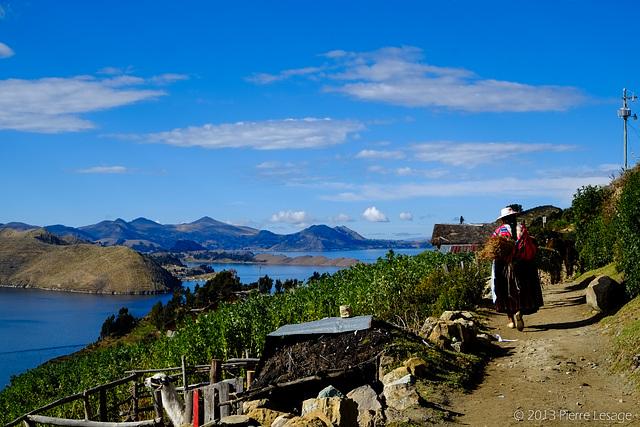 Yumani - Isla del Sol - Lago Titicaca - Bolivia