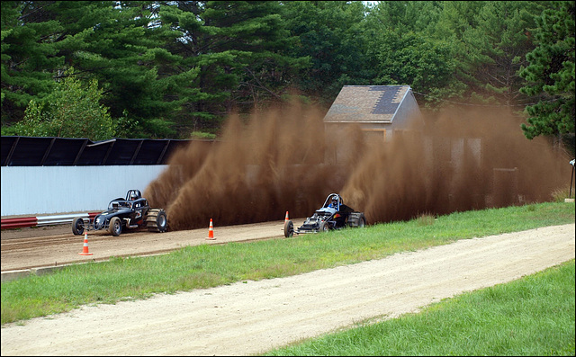 rooster tails