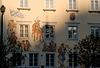 Burghausen: Lüftlmalerei am Stadtplatz