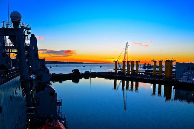 Sunrise over Tranmere Basin