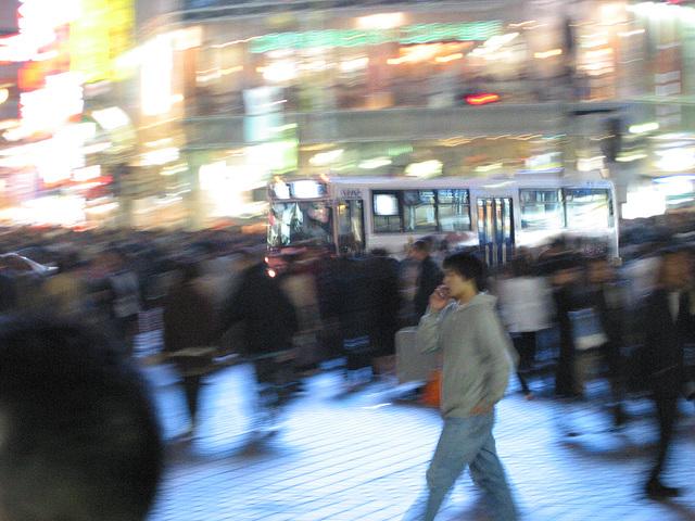 Shibuya Evening