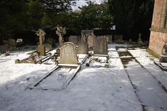 Churchyard, Saint Michael's Church, Birchover, Derbyshire