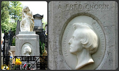 Frédéric Chopin's grave