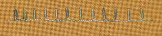 #71 - Bullion Buttonhole Stitch
