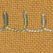 #71 - Bullion Buttonhole Stitch