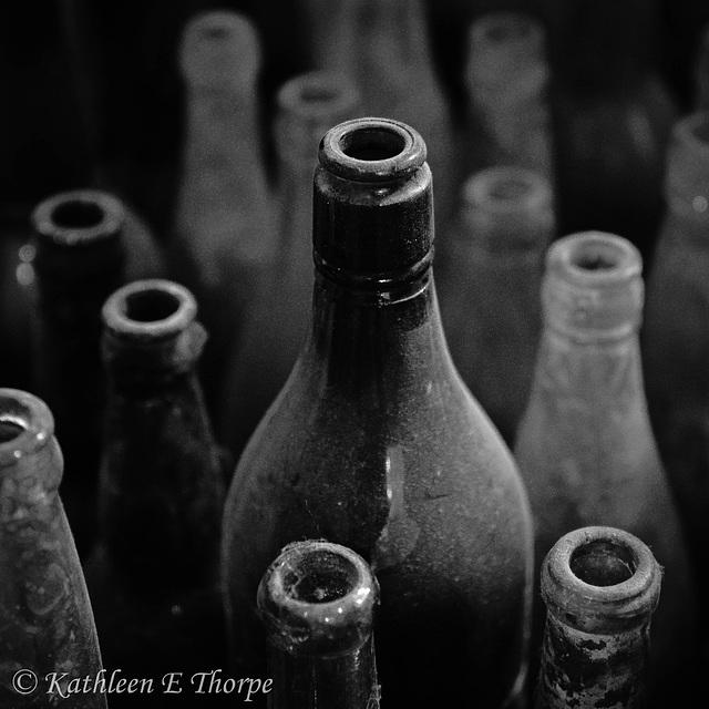 Casa Grande Trading Post Glass Bottles