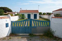 Kleines Haus mit Garten und Tor in La Cotinière - 2011-05-02-_DSC7390