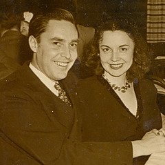 My newlywed parents, spring1946