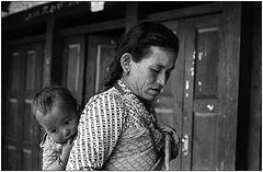Mère népalaise.