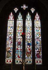 East Window, Saint Michael's Church, Birchover, Derbyshire