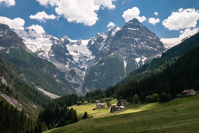 Bella Vista / Schöne Aussicht: Talabschluss von Trafoi - 2010-06-29-_DSC0528