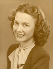Mom, c. 1941.  Happy Mother's Day.