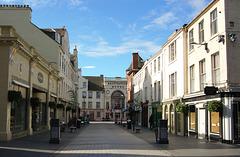 St John Street, Looking Towards South Street, Perth, Scotland