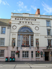 Salutation Hotel, South Street, Perth, Scotland