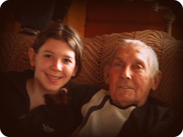 Jamie & Grampy