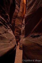 Escalante NP - Inside Zebra Slot Canyon - Explore 10/05/11 #117