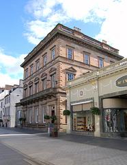 Former Bank Designed by David Rhind, St John Street, Perth, Scotland