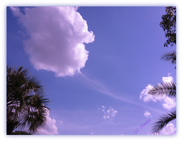 Huff 'n puff sky . .