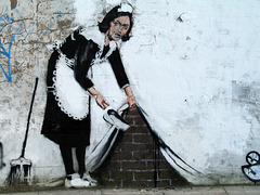 French Maid (Banksy)
