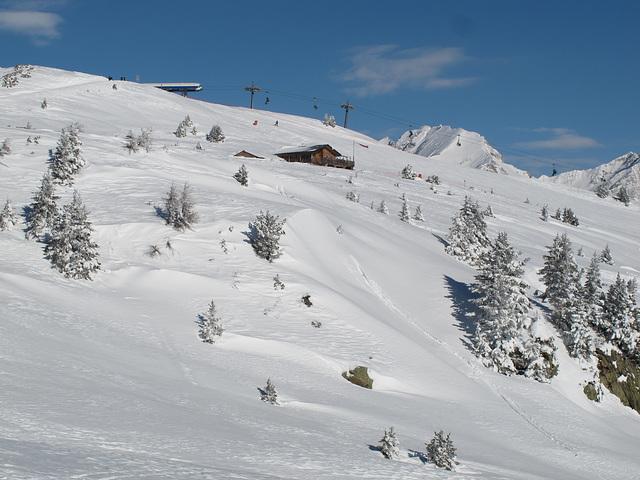 Skigebiet Vals-Jochtal, Hinterberg, Ochsenalm - 2012-01-18-IMG_1395
