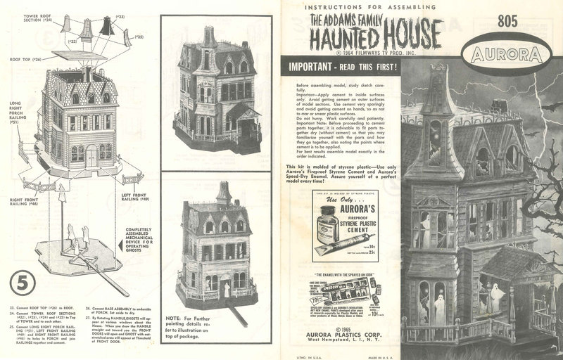 Addams Family Haunted House
