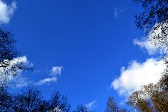 heute himmelblau