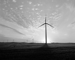 North Dakota: wind farm