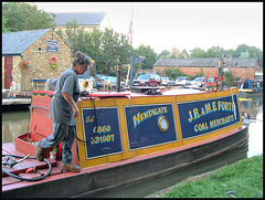 canal boat coal merchants