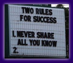Two Rules for Monday ..