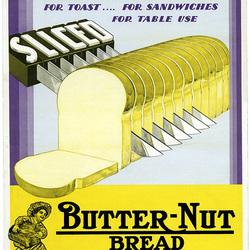 Sliced Butter-Nut Bread
