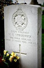 Valentine Joe Strudwick – boy soldier