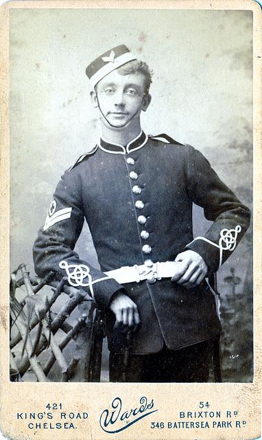 RAMC Corporal, Chelsea c1910