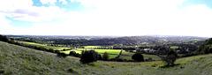 Box Hill panorama, Surrey