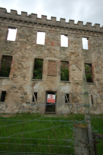Fetternear House, Chapel of Garioch, Aberdeenshire (now a ruin)