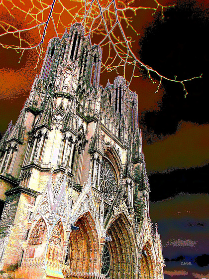 Cathédrale de Reims !
