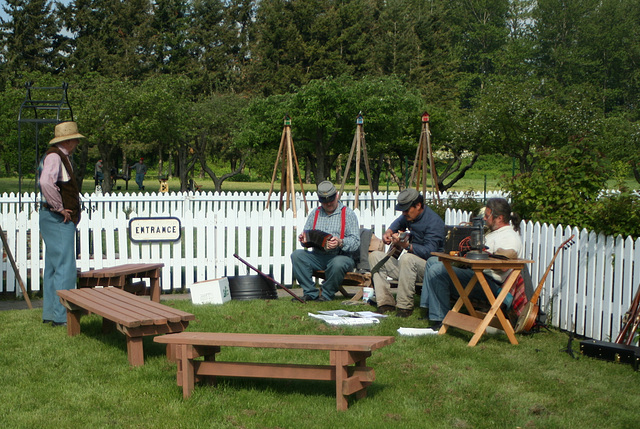 Civil War Reenactment, Hovander Park, Ferndale
