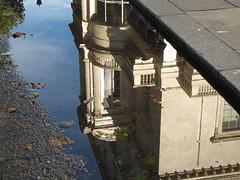 Carlton House Terrace reflected
