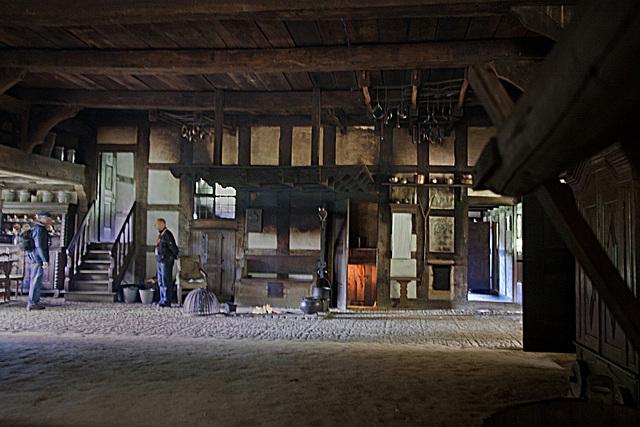 20121008 1458RWw Osnabrücker Hof, Haupthaus, Tenne