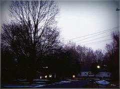 Winter twilight